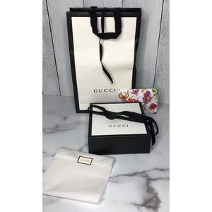 Other - Gucci box bag and tissue